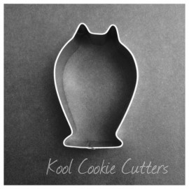 Owl with Feet Cookie Cutter