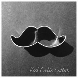 Mini Moustache with Curved Ends 2